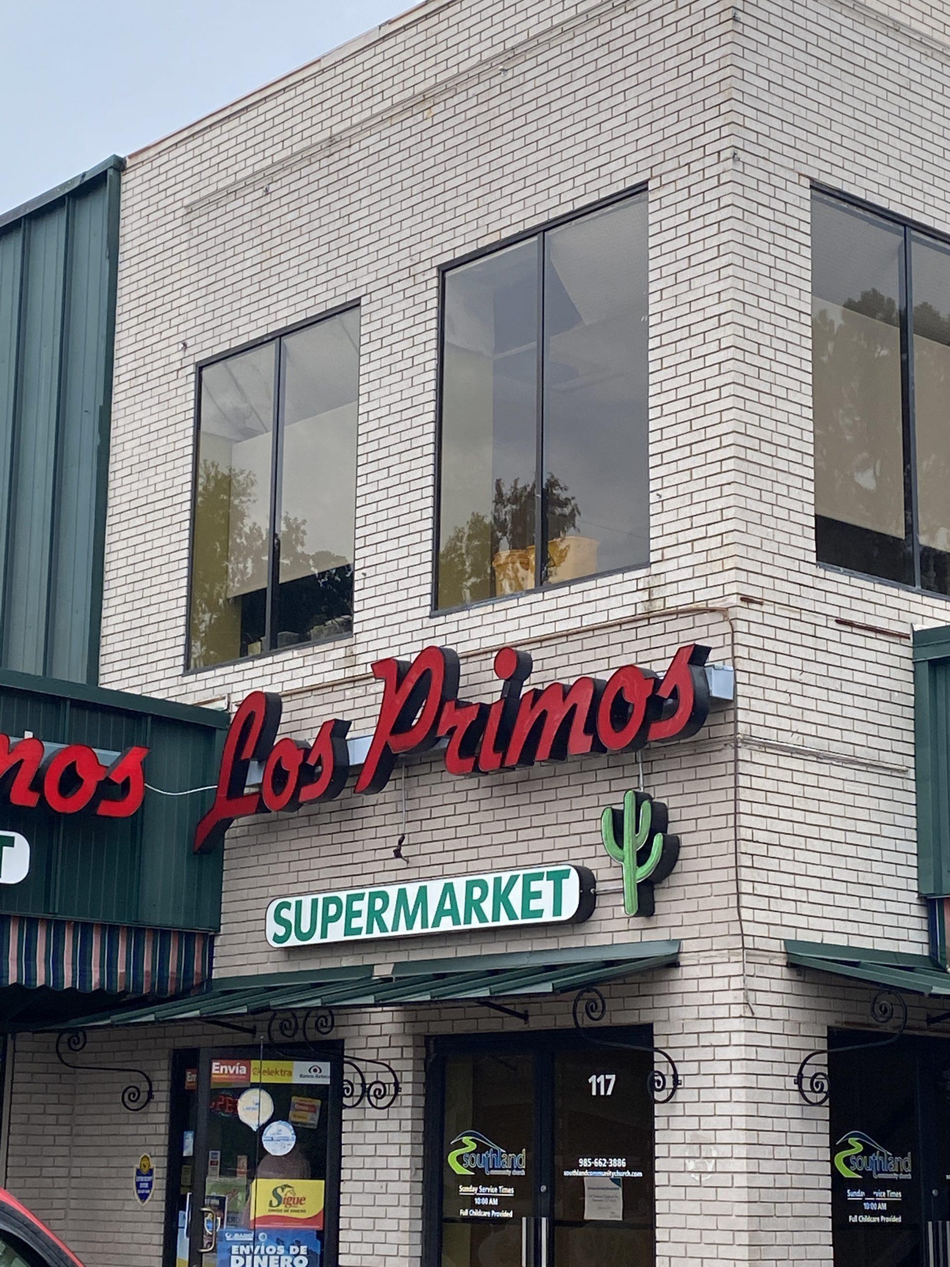 Lost Primos storefront