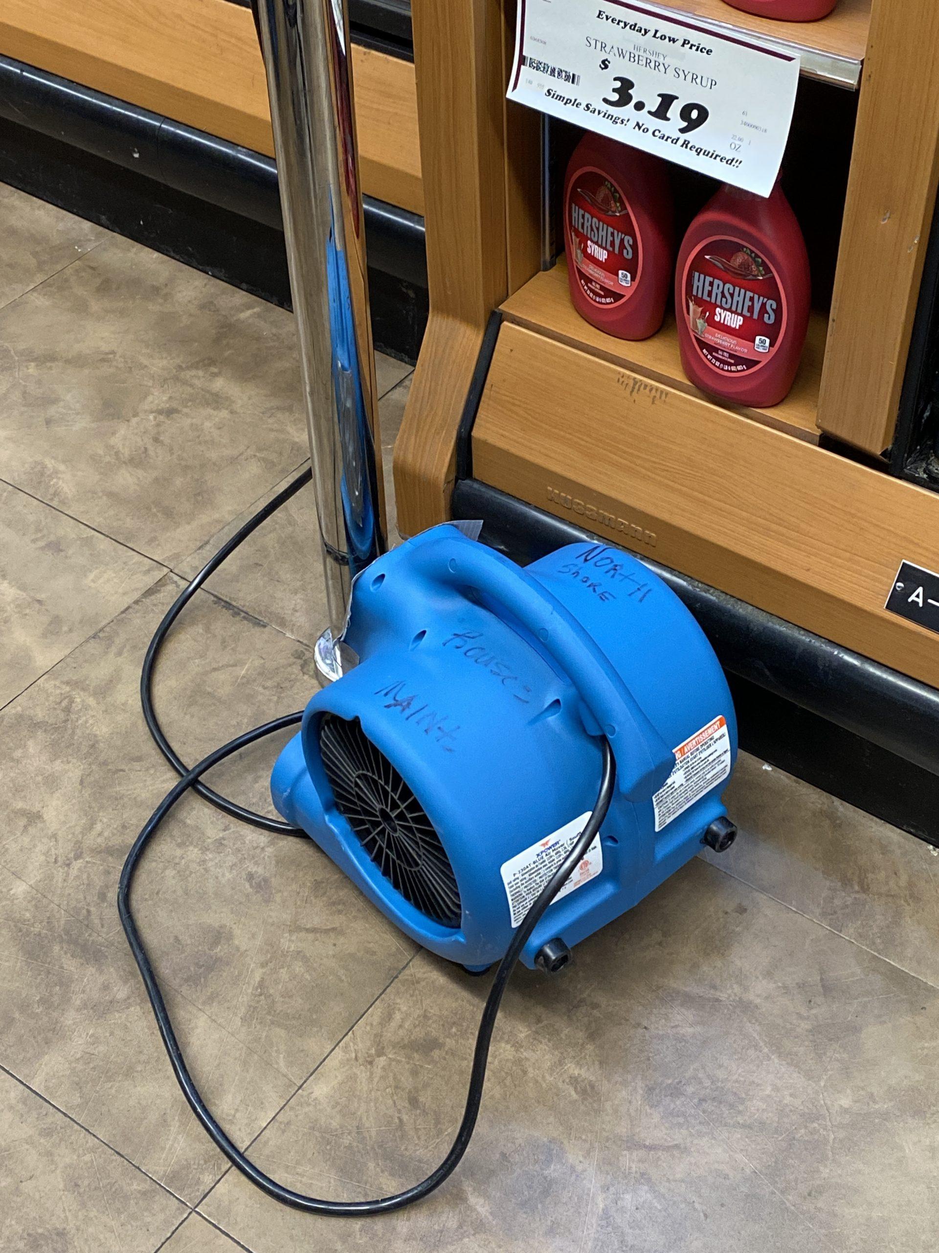 Floor fan in Rouses
